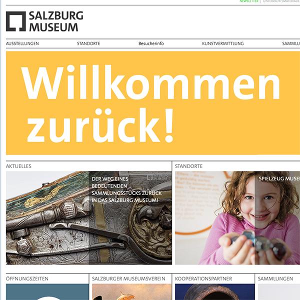 Das Salzburg Muesum ist zurück