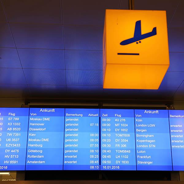 Flughafen Salzburg statet wieder durch