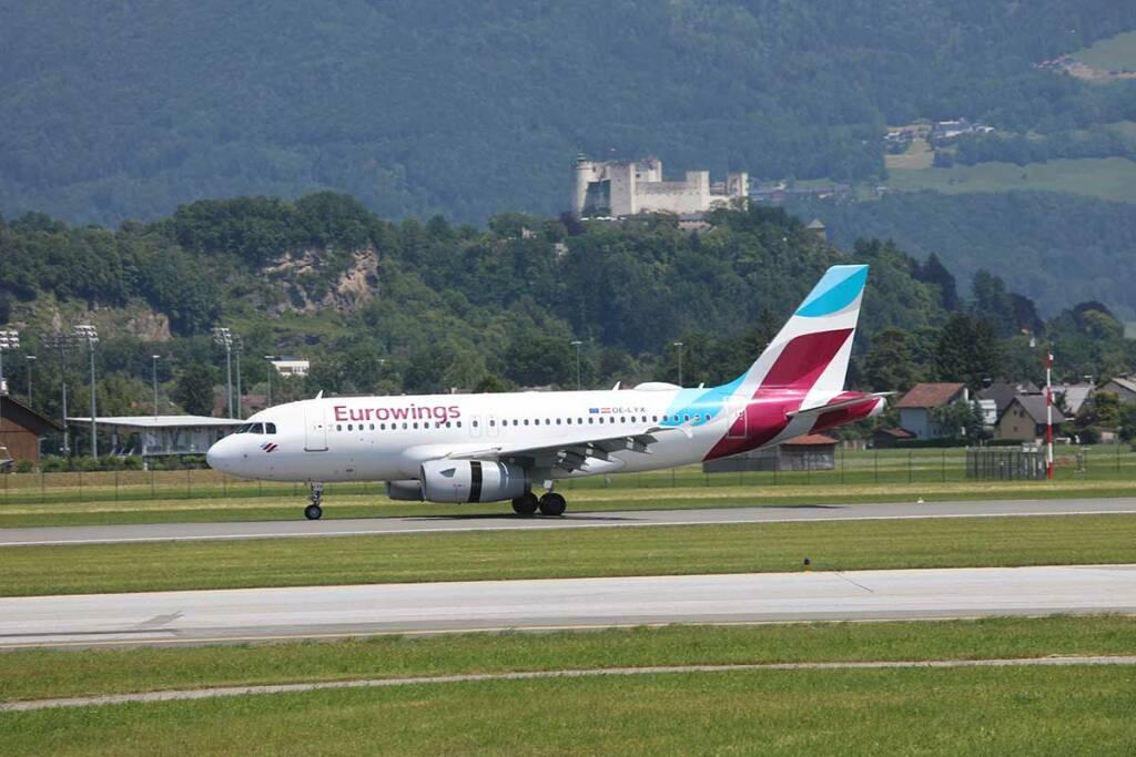 Eurowings bedient ab Juli fast alle Strecken Salzburg Deutschland
